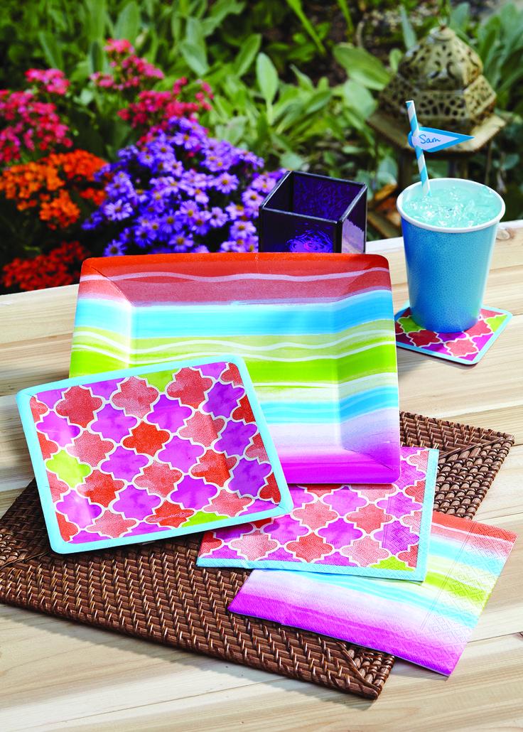 Design Design Paper Plates & ... Design Paper Click To Enlarge
