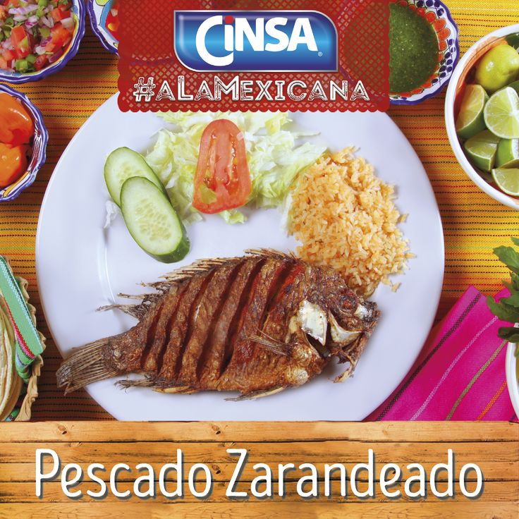 #Cinsa #CinsaALaMexicana #Recetas #Mexicanas #RecetasMexicanas #México #Comida #ComidaMexicana #peltre #MarcasMexicanas #PescadoZarandeado #Nayarit