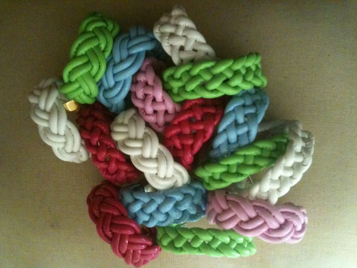Mix your own colors! Charm woven summer bracelets. The finishing touch for any festival outfit. A really good arm party.