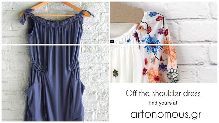 Off the shoulder dresses / artonomous.gr