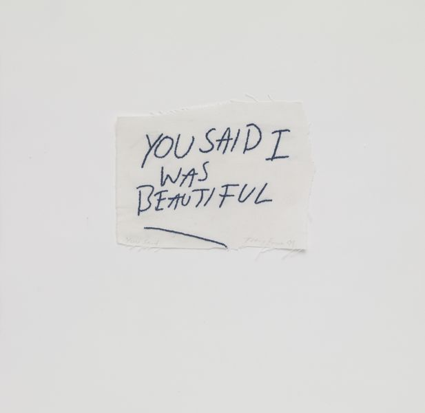 """YOU SAID I WAS BEAUTIFUL"""