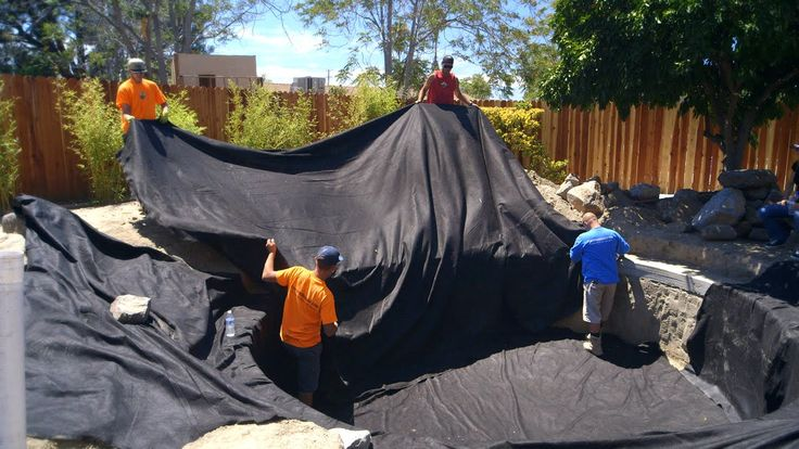 78 Images About Diy Koi Pond Construction Video Series On