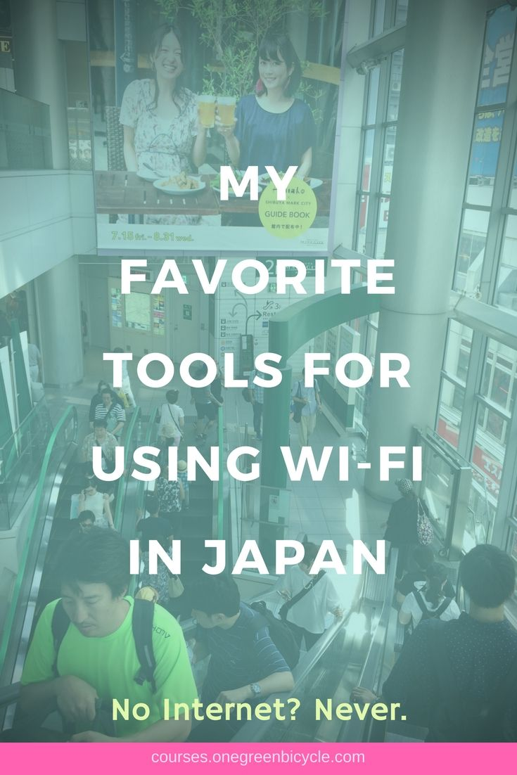 Everything you need to know to connect to the internet while traveling in Japan