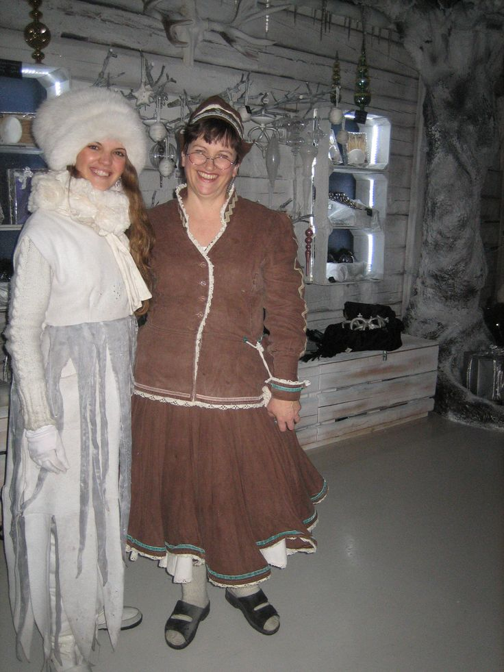 The Ice Princess meets Mrs Gingerbread