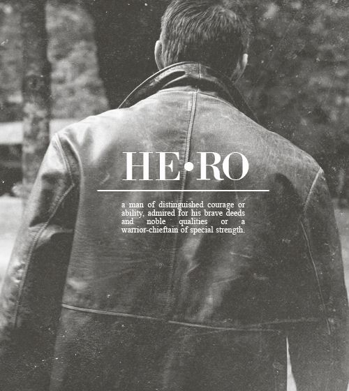 There goes my Hero #Supernatural #DeanWInchester