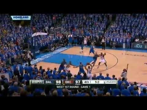 www.nbacircle.com NBA CIRCLE - Game 1 Mavericks Vs Thunder Playoffs First Round Highlights April 28, 2012