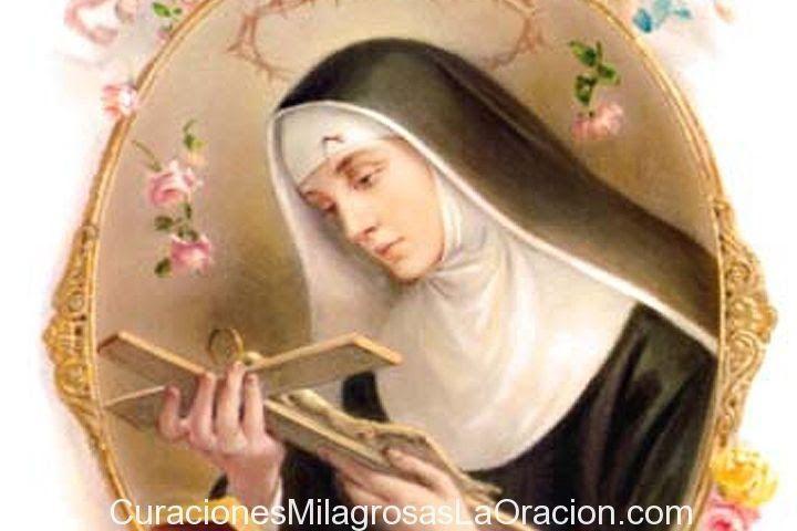 Oración Santa Rita Para Pedir Un Milagro Difícil De Amor Oracion A Santa Rita Oraciones Oraciones Catolicas Milagrosas