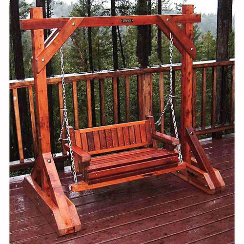 Porch Swing Frame Plan 16258ez Porch Swing Project