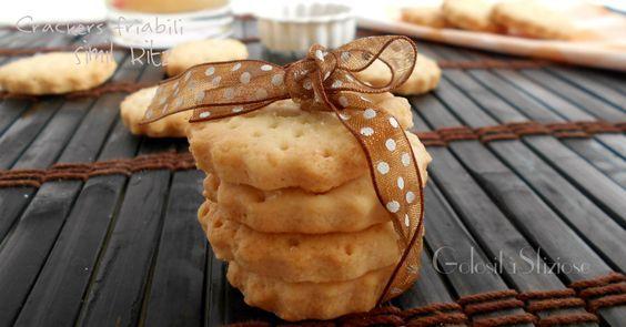 I crackers friabili sono dei biscottini molto simili ai Ritz ma sicuramente più sani! Da sgranocchiare in qualsiasi momento della giornata in cui abbiamo..