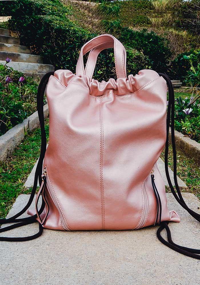 Τσάντα σακίδιο με κορδόνι