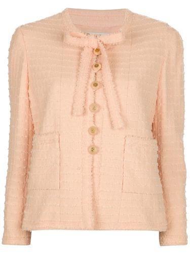 CHANEL VINTAGE boucle jacket #jacket #chanel #designer #covetme #chanelvintage