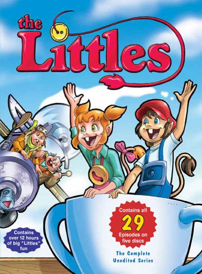 the Littles #ABC #Cartoon #1980s  I read all these books!