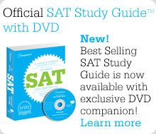 SAT study guides and information @ sat.collegeboard.org/home#