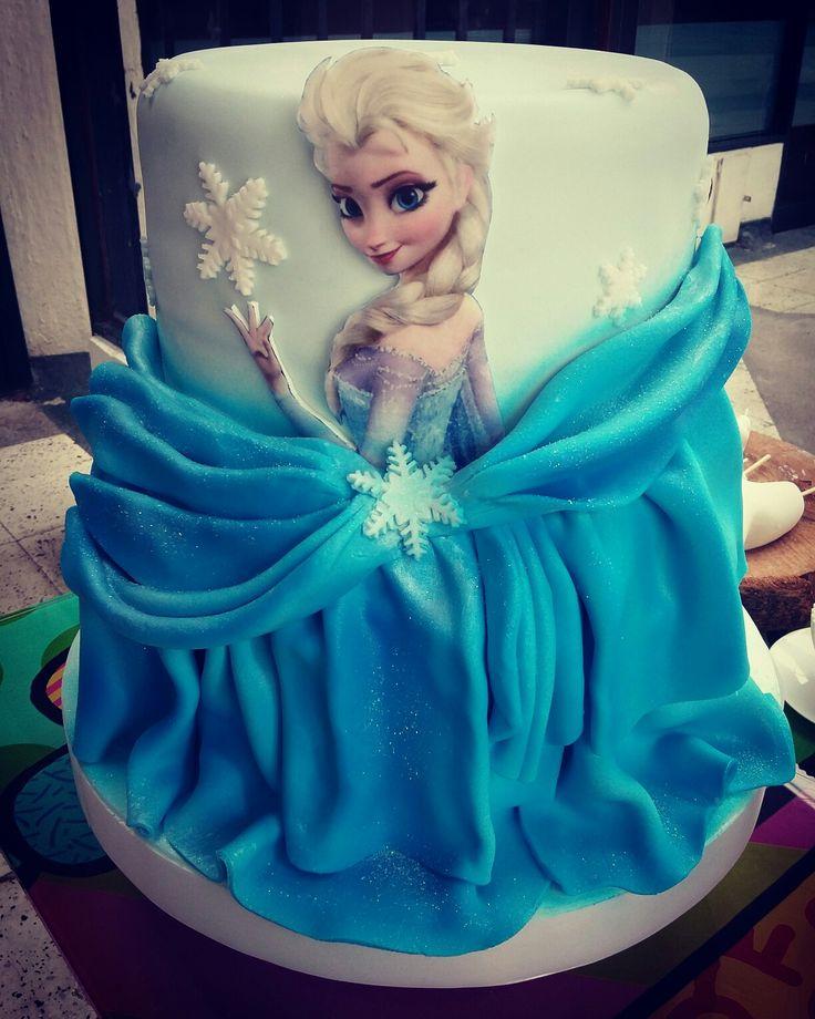 Cake frozen @cakesfantasy @cakesfantasykli