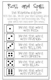 rainbow writing spelling words template - 17 best images about spelling practice and word work on