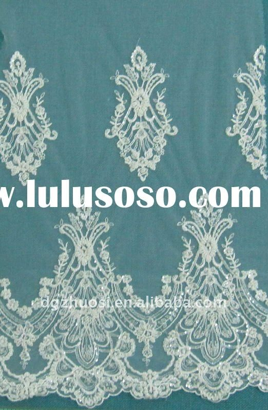 wedding embroidery lace fabric