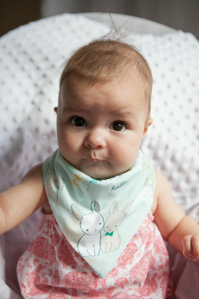 Cute little bandana made by Littletreez.  Only 15.00 dollars