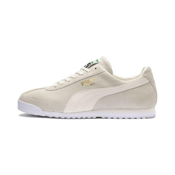 Schuhe Damen Absatz – Damen PUMA Sneaker Roma Suede schwarz