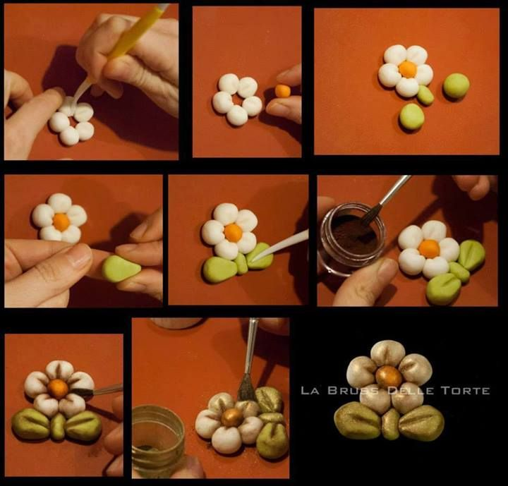 Cake decoration: Cute flower
