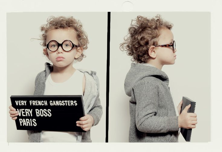 Very French GangstersLittle Rocks, For Kids, Mugs Shots, Kids Birthday Parties, French Gangsters, Eyewear, Child Fashion, Kids Glasses, French Style
