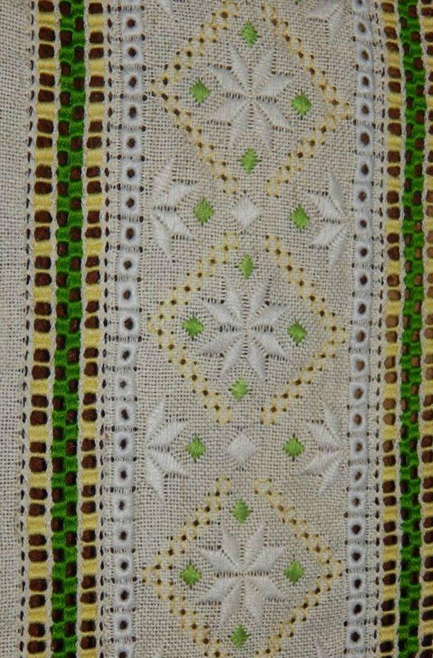 Ukraine traditional Embroidery Symbols Kolyadki Kaldien