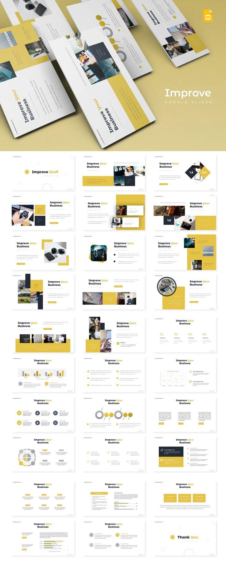 Improve - Google Slides Presentation Template
