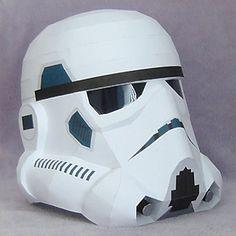 Papercraft imprimible y armable del Guardia de Asalto / Stormtroopers de Star Wars. Manualidades a Raudales.