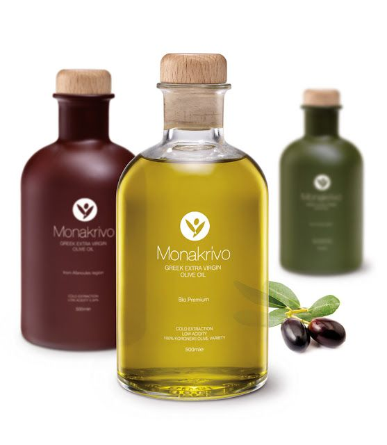 Monakrivo Olive Oil on Packaging of the World - Creative Package Design Gallery