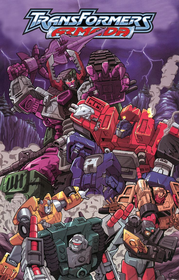Transformers News: IDW Transformers: Armada Omnibus Reprint Preview