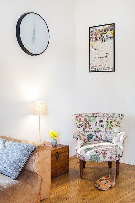 scandinavian design // minimalistic interior // cosy living room