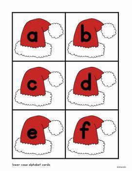 Santa, Santa, A B C - Alphabet Activity Freebie by Clearly Primary by Jill Bell | Teachers Pay Teachers