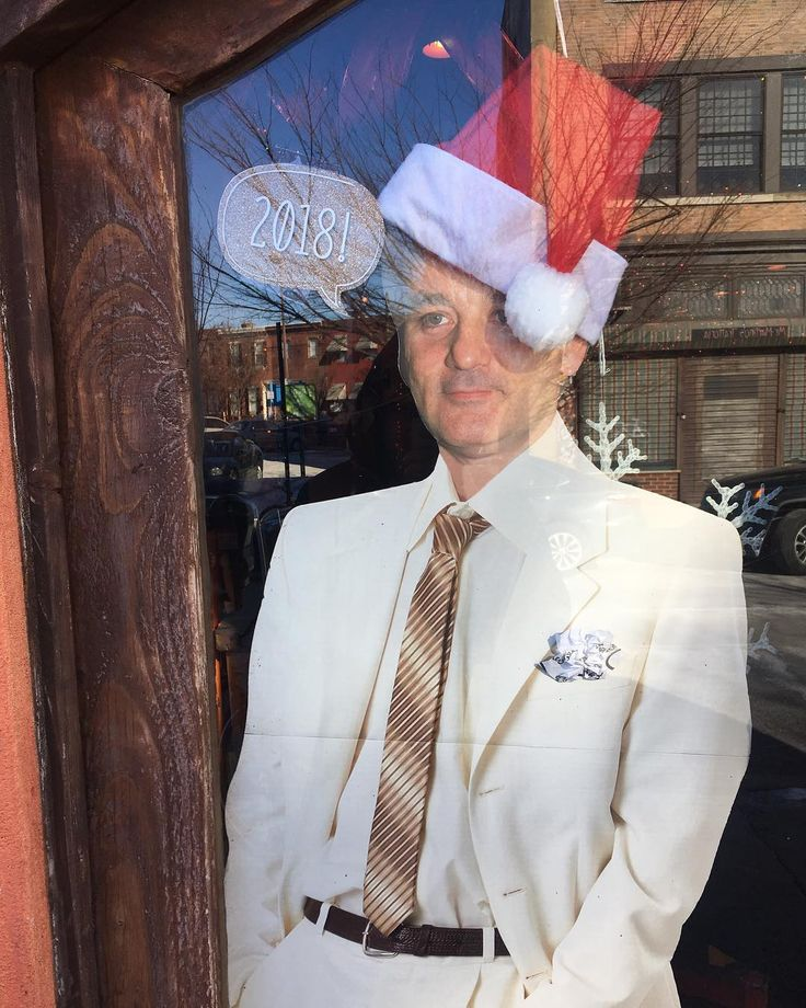 "Happy New Year from Bill Murray. The famous ""Groundhog day"" takes place in Punxsutawney Pennsylvania"