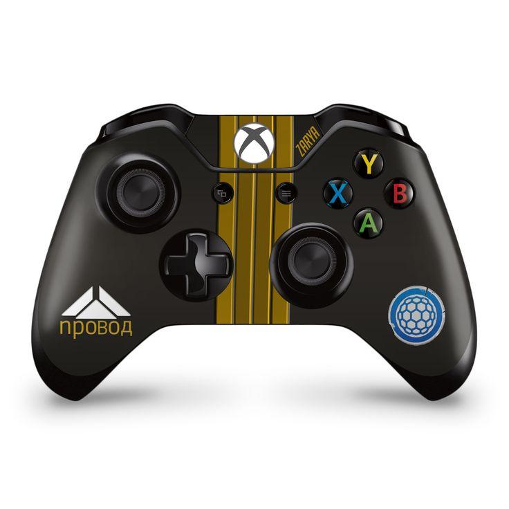 Zarya Midnight Xbox One Controller Skin