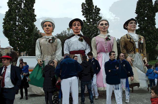 cosasdeantonio: Gigantes de Barañain en Echavacoiz