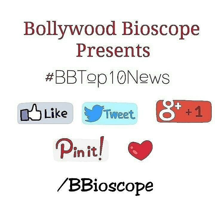 #BBTop10News  1.Rumours in the Brown is Amitabh Bachchan, Jackie Chan, Jacqueline Fernandez & Abhay Deol will star in the first Indo-Chinese film #GoldStruck.  2.Varun Dhawan & Arjun Kapoor to reportedly play the lead in the remake of 'Ram Lakhan'.   3.Dia Mirza to tie-the-knot with fiancé Sahil Sangha on October 18.   4.Jackie Shroff might replace Govinda in Anurag Basu's 'Jagga Jasoos' due to creative difference with the filmmaker.   5.Parineeti Chopra admits that she has 'a lot of money'…