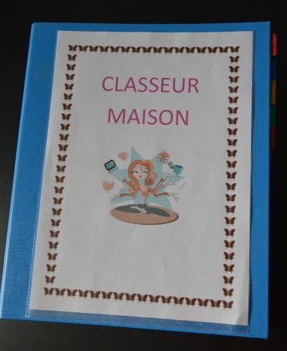 JANVIER: LE CLASSEUR MAISON