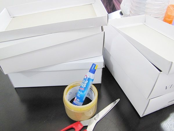 Design Makeup Organizer Drawer Using Shoe Boxes Do It Yourself