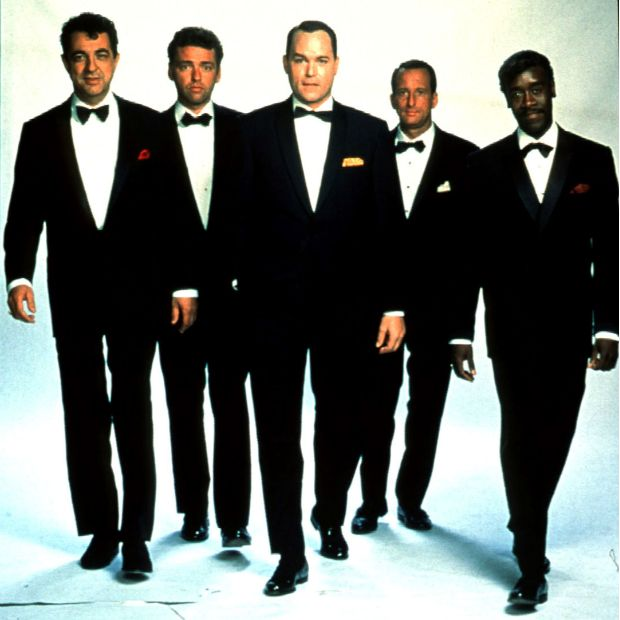 �The Rat Pack (1998) - A made-for-TV film, although who knows what the station were thinking at the time.  In a film that is unspeakably bad, Ray Liotta plays the least convincing Frank Sinatra since Frank Sinatra Jr, altough Don Cheadle%u2019s Sammy Davis Jr isn%u2019t bad.  Which is the only positive thing one can say about this movie.