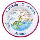 L'Osteria di Giovanni. Piccione del Valdarno arrosto ripieno di salsiccia al finocchio e cavolo nero