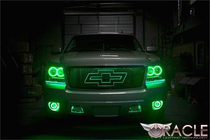 green light on gmc acadia dash