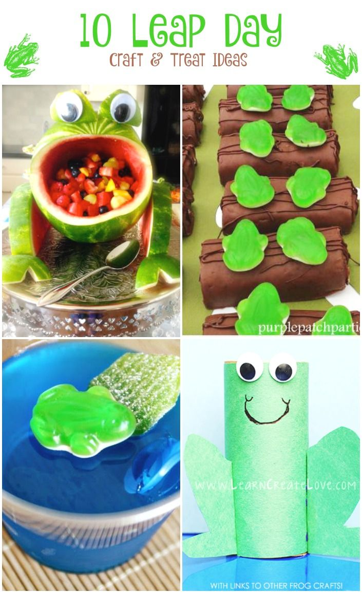 10 Leap Day Craft and Treat Ideas on Capturing-Joy.com!