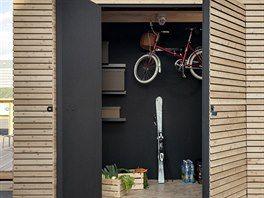 Kůlna představuje rozšíření prostoru hlavně pro sportovně laděné obyvatele nebo kutily.