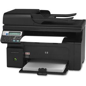 HP LaserJet Pro M1210 M1217NFW Laser Multifunction Printer - Item # HEWCE844A - Wireless laser printer, copier, scanner and fax; 64 MB memory; Ethernet networking, USB interface; printer, scanner, copier, and fax machine