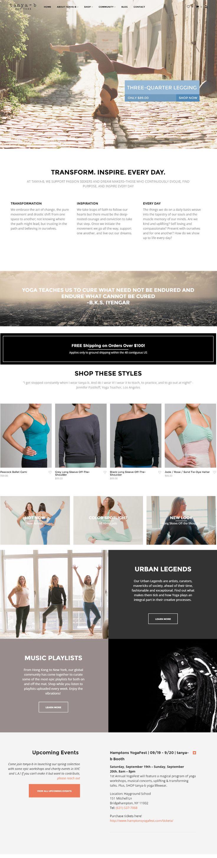 tanya-b.com was built with Shopkeeper WP Theme http://themeforest.net/item/shopkeeper-responsive-wordpress-theme/9553045?&utm_source=pinterest.com&utm_medium=social&utm_content=tanya-b&utm_campaign=showcase #wordpress #wordpresstheme #webdesign #yoga #yogawear #design