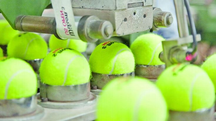 La fabrication de balles de tennis [video] - http://www.2tout2rien.fr/la-fabrication-de-balles-de-tennis-video/