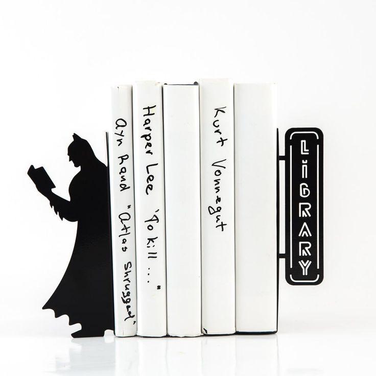 Держатели для книг Reading Batman