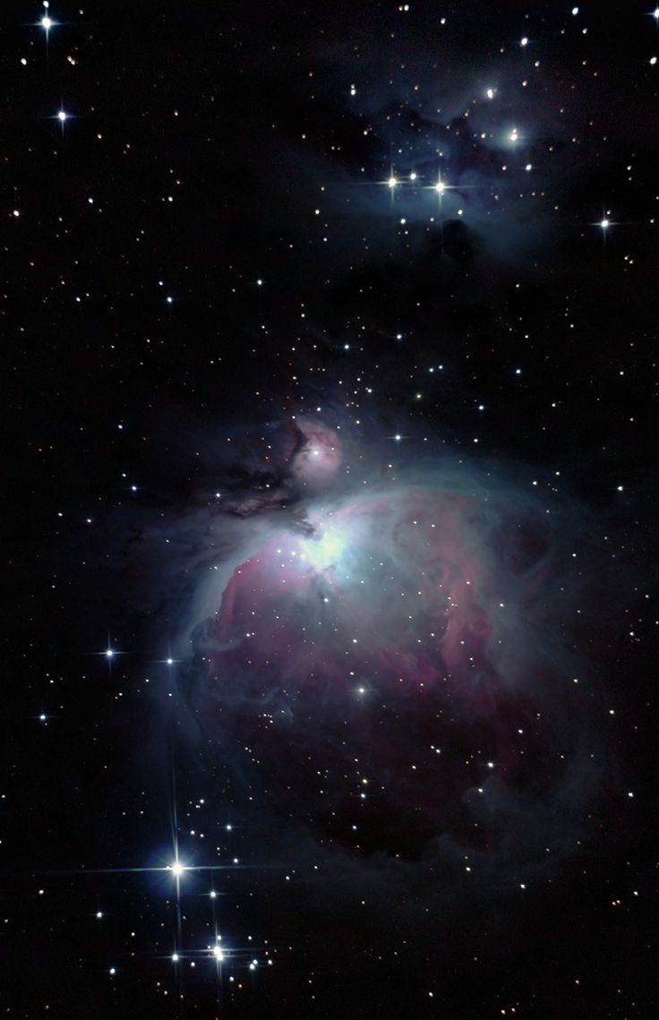 M42- Mgławica Oriona   zoom   digart.pl