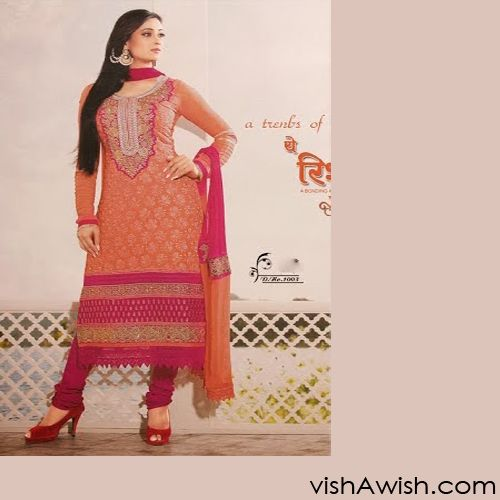 Perfect suits for every event. Huge range and at special discounted price . Leading online Shopping center   http://www.vishawish.com/sale/shewta-tiwary-suits