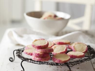 Zandkoekjes met roze suiker | Libelle-lekker.be