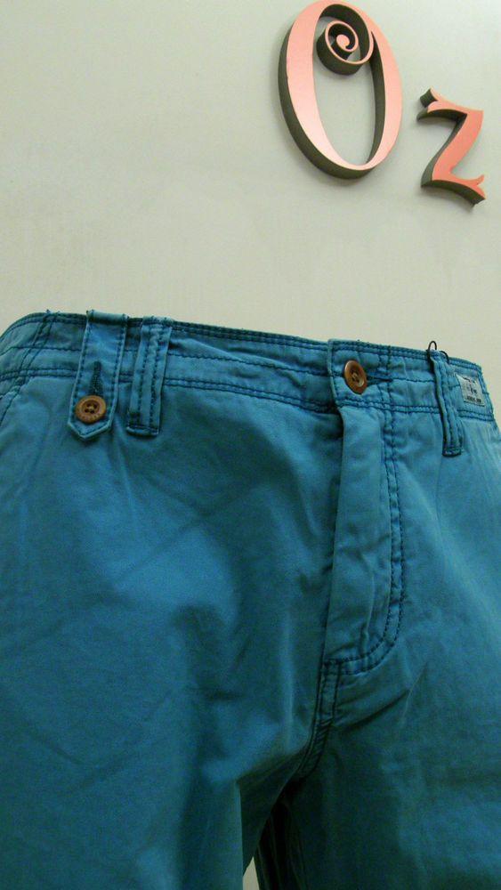 Pantalón hombre color verde esmeralda tipo chino Tommy Hilfiger -Nuevo Original-  Estamos de Rebajas comprueba los precios finales en www.ozoutlet.es/ebay